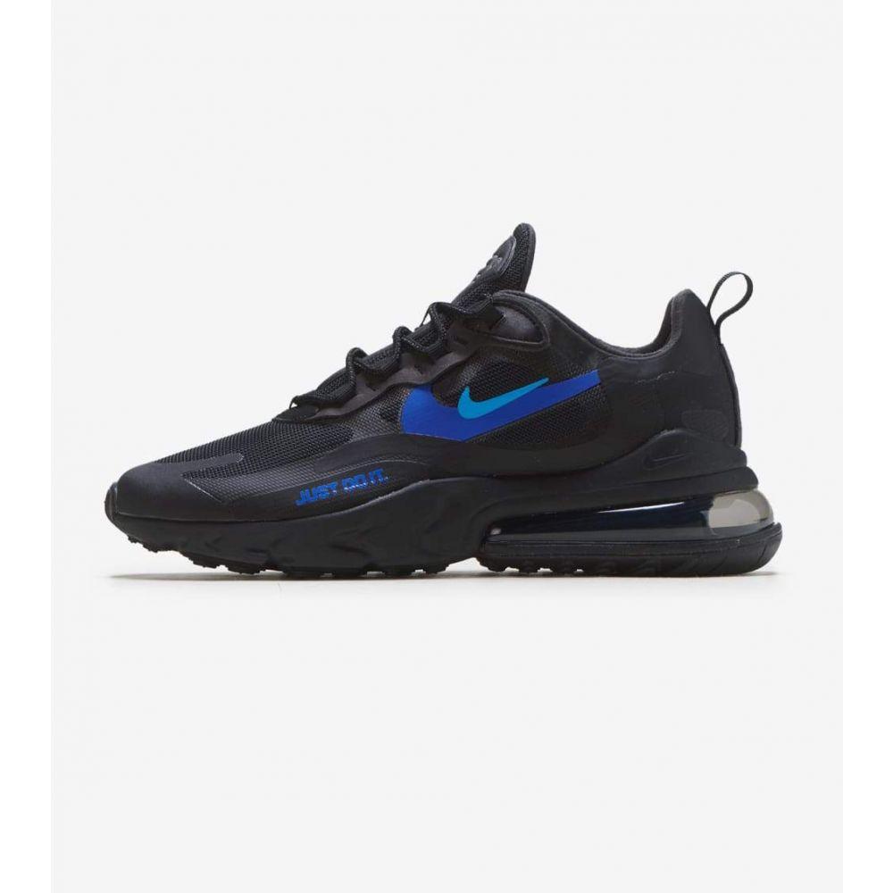 ナイキ Nike メンズ ランニング・ウォーキング エアマックス 270 シューズ・靴【Air Max 270 React】Black/Royal