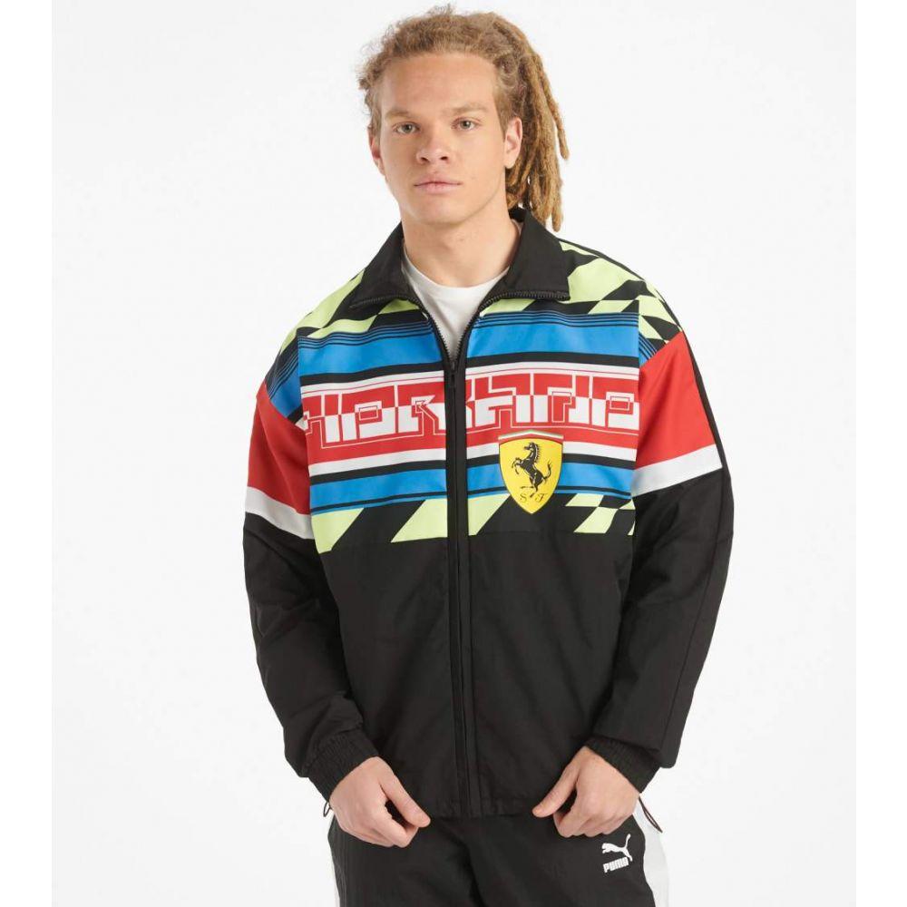 プーマ Puma メンズ ジャケット アウター【SF Street Jacket Woven Jacket】Black