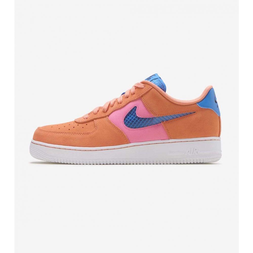ナイキ Nike メンズ スニーカー エアフォースワン シューズ・靴【Air Force 1 07 LV8】Orange Trance/Pink/Pacific Blue