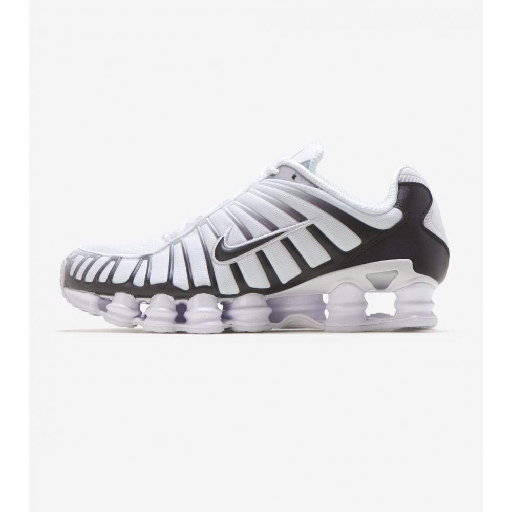 ナイキ Nike メンズ ランニング・ウォーキング シューズ・靴【Shox TL】White/Platinum