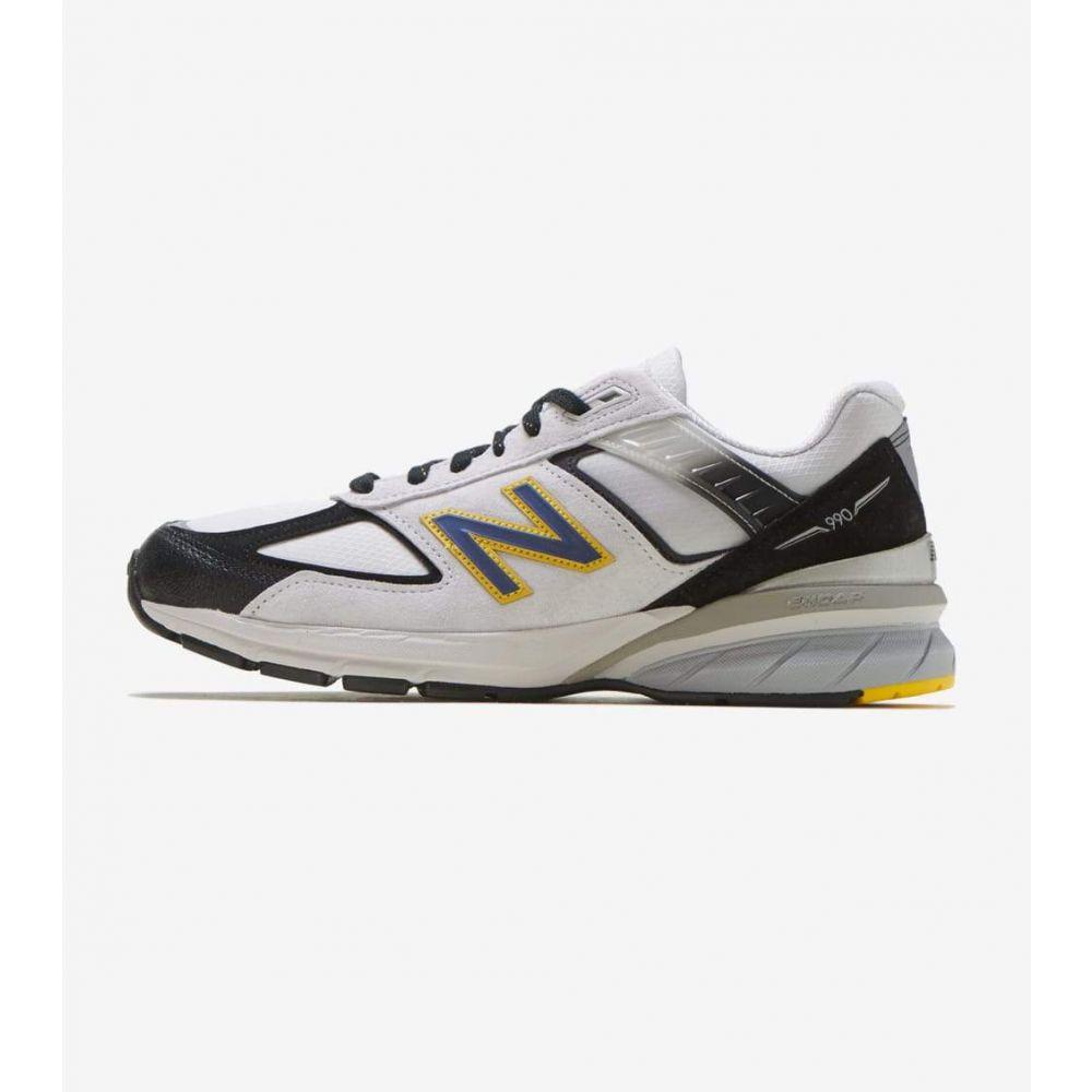 ニューバランス New Balance メンズ ランニング・ウォーキング シューズ・靴【990 V5】Silver/Black