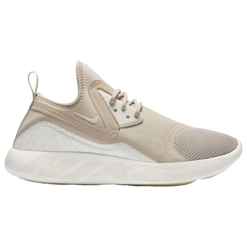ナイキ レディース シューズ・靴 スニーカー【Nike Lunarcharge Essential】Oatmeal/Sail/Volt