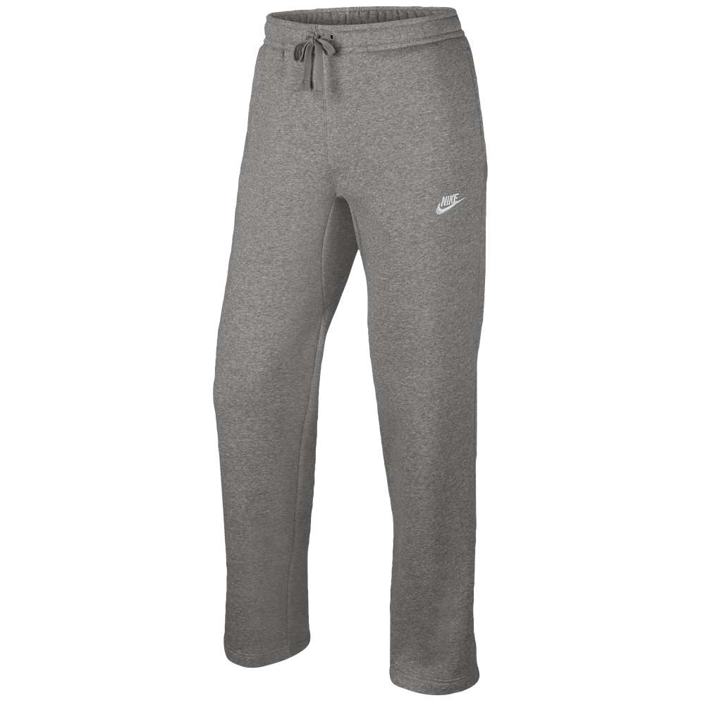 ナイキ メンズ ボトムス・パンツ スウェット・ジャージ【Nike Club Open Hem Fleece Pants】Dark Grey Heather/White