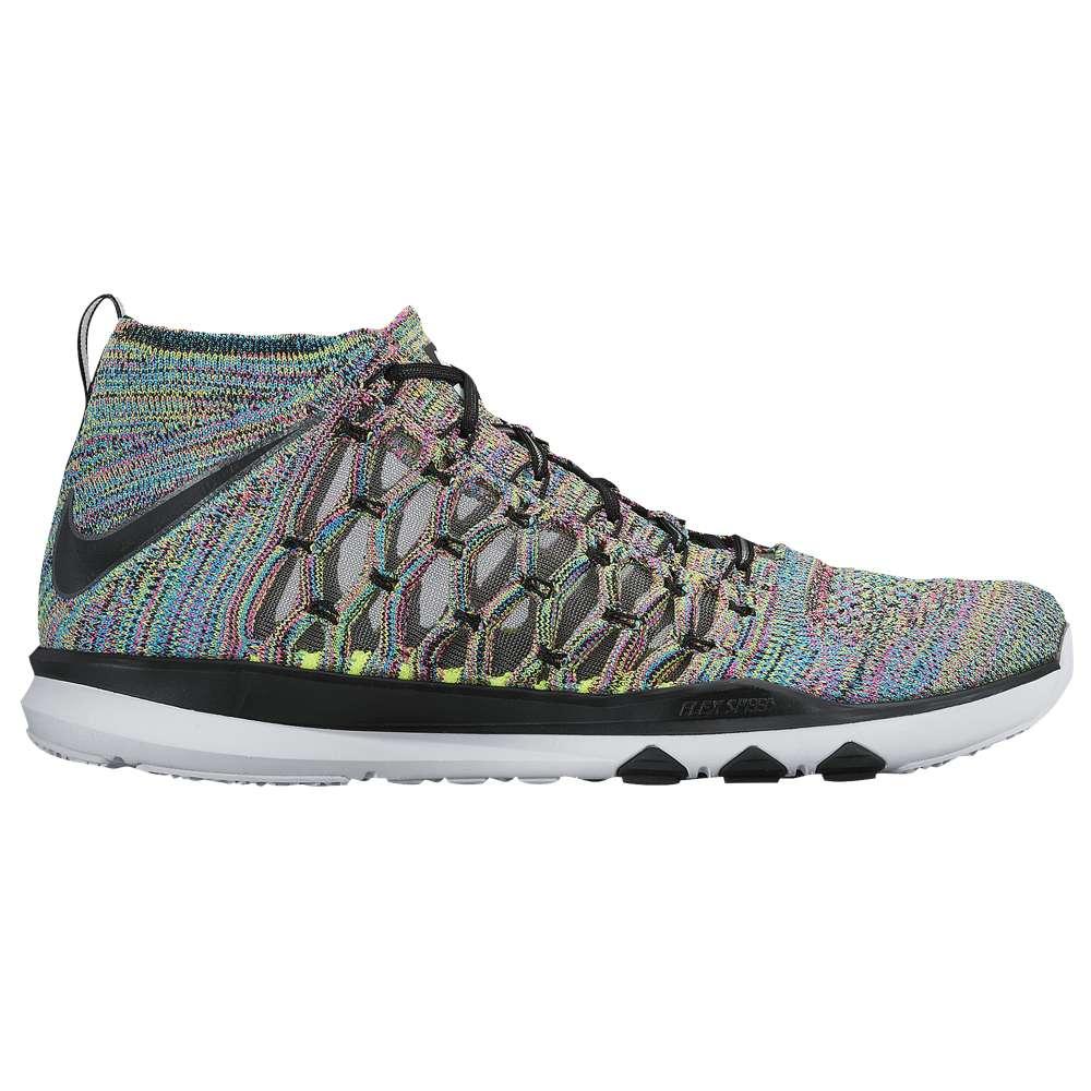 ナイキ メンズ フィットネス・トレーニング シューズ・靴【Nike Train Ultrafast Flyknit】Volt/White/Pink Blast