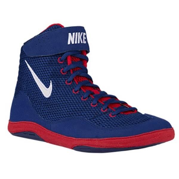 ナイキ メンズ レスリング シューズ・靴【Nike Inflict 3】Deep Royal/White/University Red