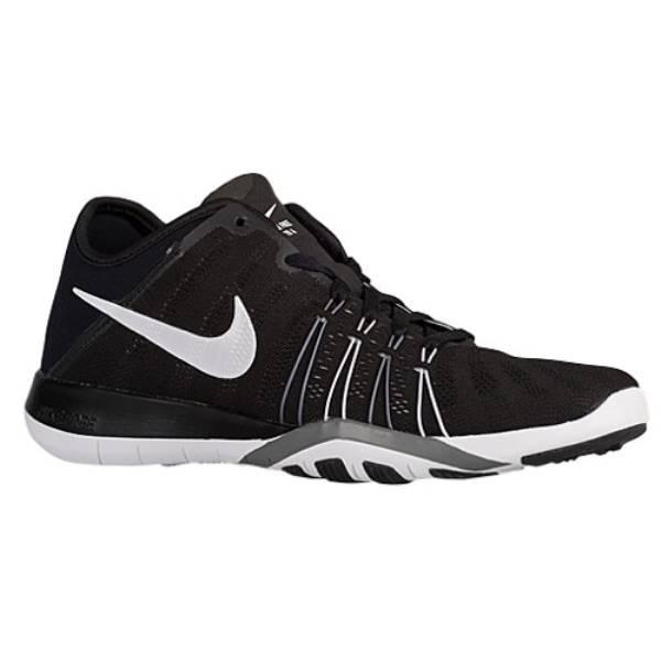 ナイキ レディース フィットネス・トレーニング シューズ・靴【Nike Free TR 6】Black/White/Wolf Grey