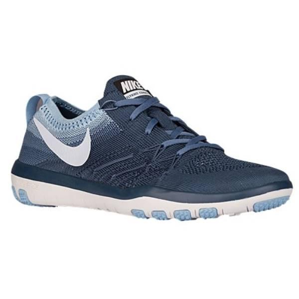 ナイキ レディース フィットネス・トレーニング シューズ・靴【Nike Free TR Focus Flyknit】Squadron Blue/Blue Tint/Bluecap/Ocean Fog