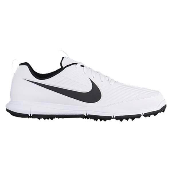 ナイキ メンズ ゴルフ シューズ・靴【Nike Explorer 2 Golf Shoes】White/Black