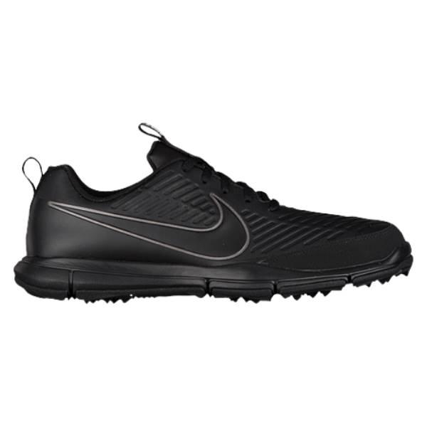 ナイキ メンズ ゴルフ シューズ・靴【Nike Explorer 2 Golf Shoes】Black/Black-Metallic/Dark Grey