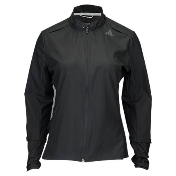 アディダス レディース ランニング・ウォーキング アウター【adidas Response Wind Jacket】Black