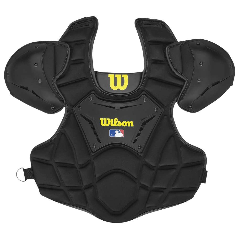 ウィルソン ユニセックス 野球 プロテクター【Wilson Guardian Umpire Chest Protector】Black