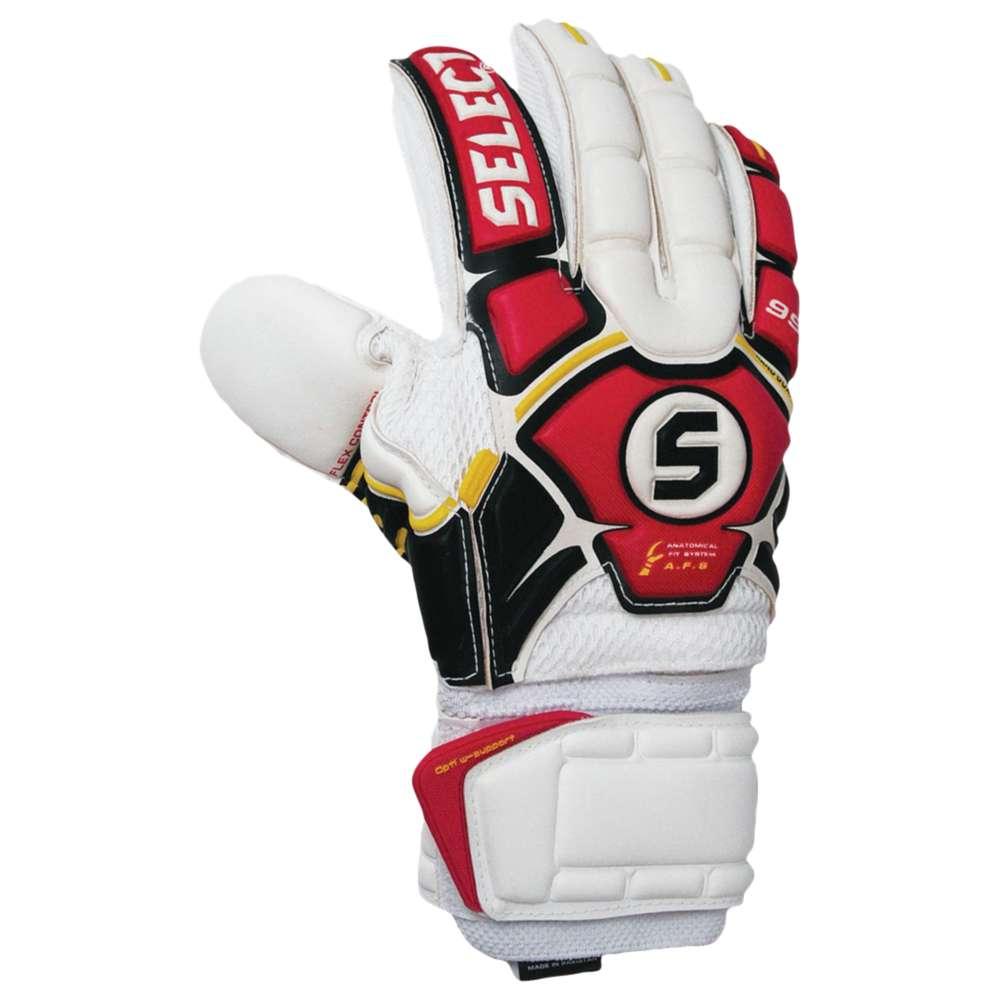 セレクト ユニセックス サッカー グローブ【Select 99 Goalie Gloves】White/Red/Black
