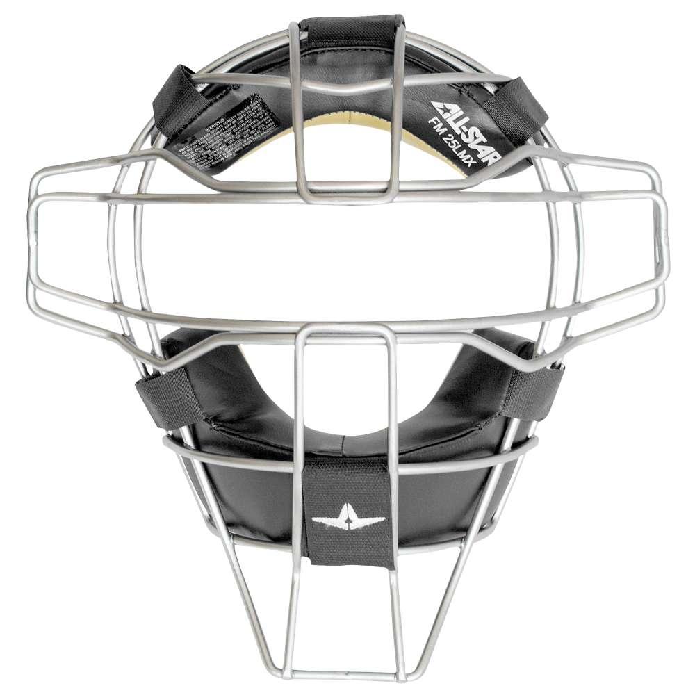 オールスター ユニセックス 野球 プロテクター【All Star Superlight Titanium Alloy Facemask】Black