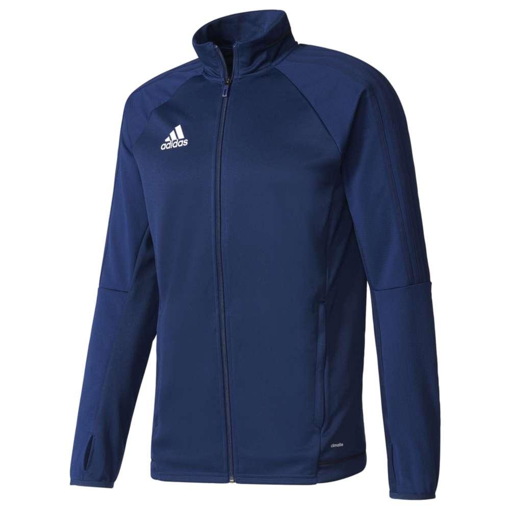 アディダス メンズ アウター ジャージ【adidas Tiro 17 Jacket】Dark Blue/White