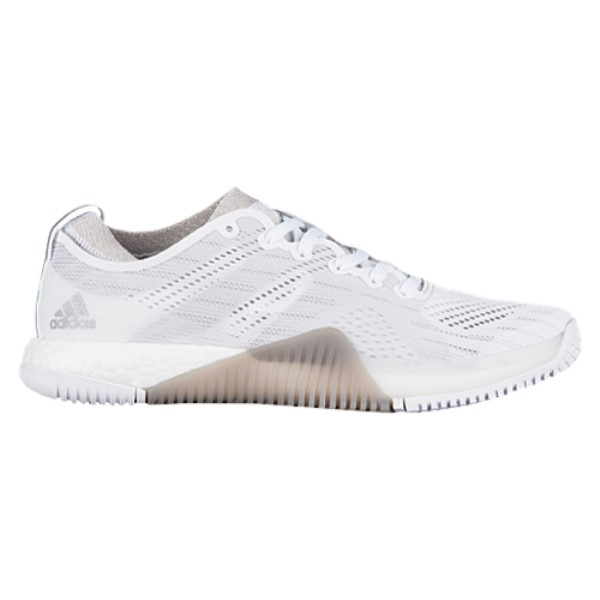 アディダス レディース フィットネス・トレーニング シューズ・靴【adidas Crazytrain Boost Elite】Footwear White/Tech Silver Metallic/Grey One