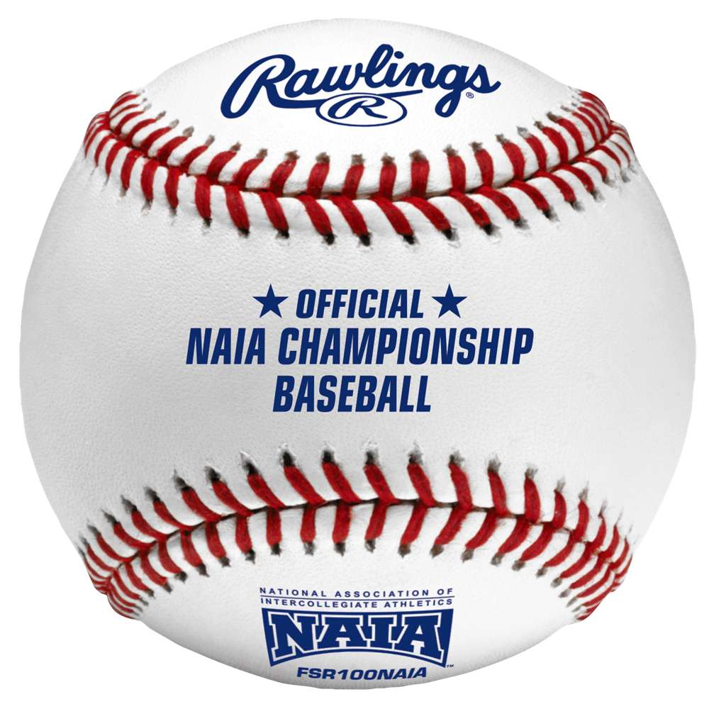 ローリングス メンズ 野球 ボール【Rawlings Official NAIA Flat Seam Baseballs】White