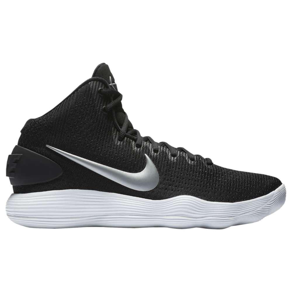 ナイキ メンズ バスケットボール シューズ・靴【Nike React Hyperdunk 2017 Mid】Black/Metallic Silver/White