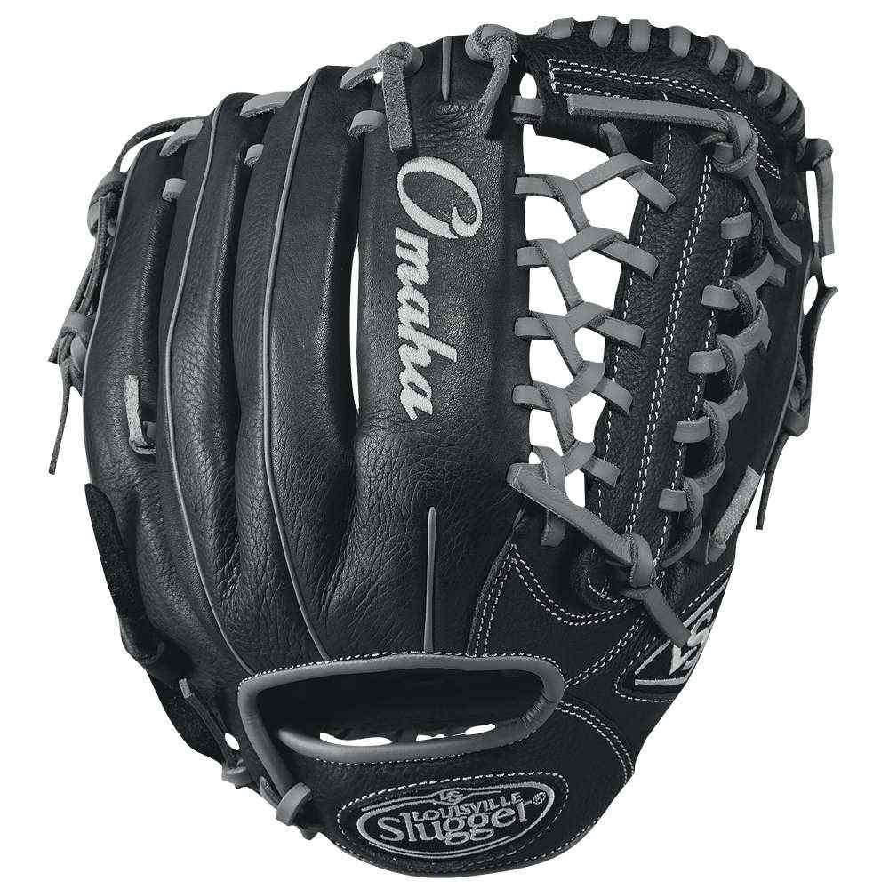 ルイスビルスラッガー メンズ 野球 グローブ【Louisville Slugger Omaha Pro T Web Fielding Glove】Black/Silver