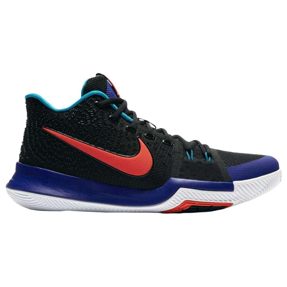 ナイキ メンズ バスケットボール シューズ・靴【Nike Kyrie 3】Black/Concord/Orange