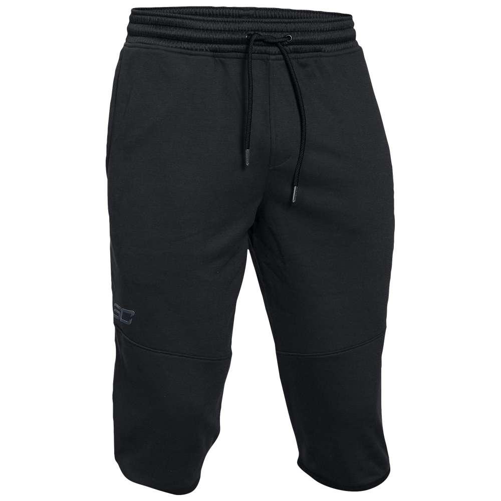 アンダーアーマー メンズ バスケットボール ボトムス・パンツ【Under Armour SC30 Long Shorts】Black/Stealth Grey