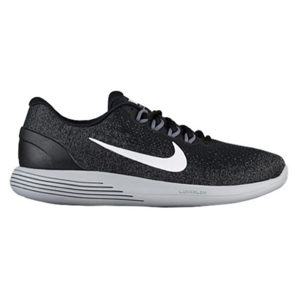 ナイキ メンズ ランニング・ウォーキング シューズ・靴【Nike LunarGlide 9】Black/White/Dark Grey/Wolf Grey