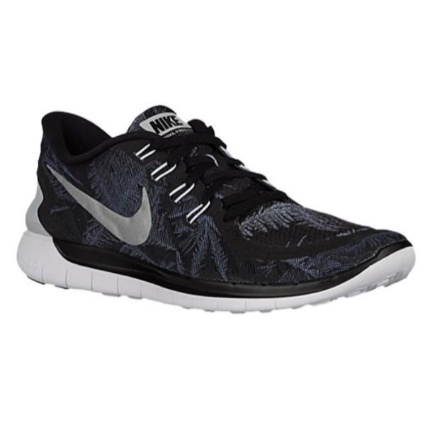 ナイキ メンズ ランニング・ウォーキング シューズ・靴【Nike Free 5.0 2015】Black/Reflective Silver/Pure Platinum