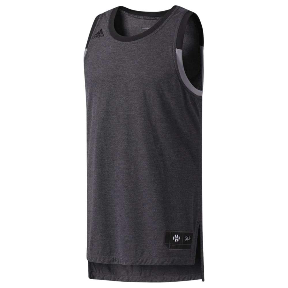 アディダス メンズ トップス タンクトップ【adidas Harden Jersey】Dark Grey