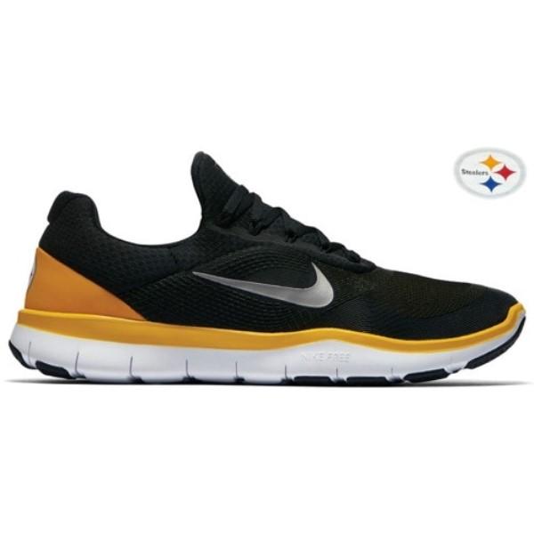 ナイキ メンズ フィットネス・トレーニング シューズ・靴【Nike Free Trainer V7】Black/Chrome/University Gold/White
