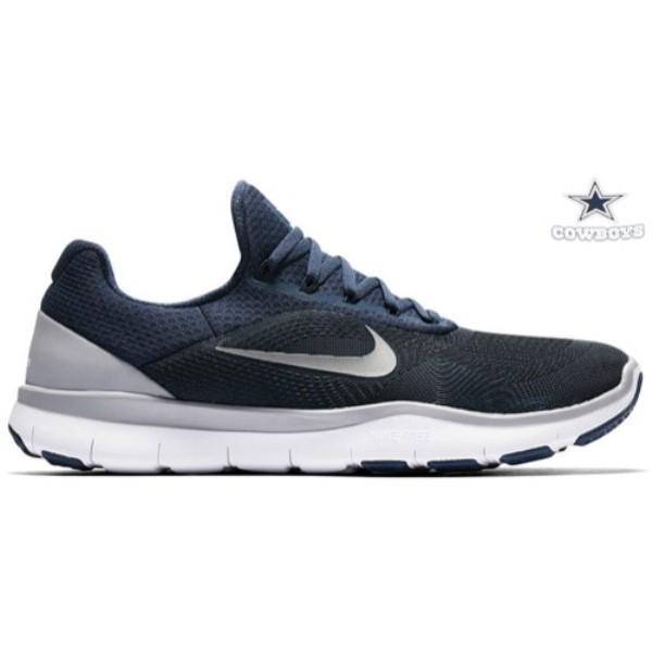 ナイキ メンズ フィットネス・トレーニング シューズ・靴【Nike Free Trainer V7】College Navy/Chrome/Wolf Grey/White