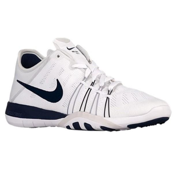 ナイキ レディース フィットネス・トレーニング シューズ・靴【Nike Free TR 6】White/Midnight Navy/Pure Platinum