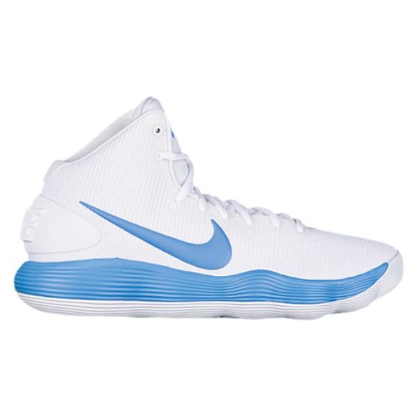 ナイキ メンズ バスケットボール シューズ・靴【Nike React Hyperdunk 2017 Mid】White/Coast