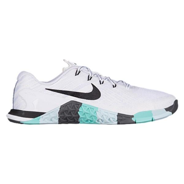 ナイキ レディース フィットネス・トレーニング シューズ・靴【Nike Metcon 3】White/Black/Aurora Green