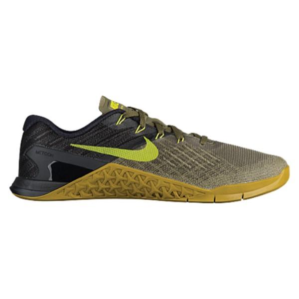 ランキング第1位 ナイキ メンズ メンズ 3】Medium フィットネス・トレーニング シューズ・靴【Nike ナイキ Metcon 3】Medium Olive/Bright Cactus/Black, シコタングン:05f4a531 --- mrdc.com.br