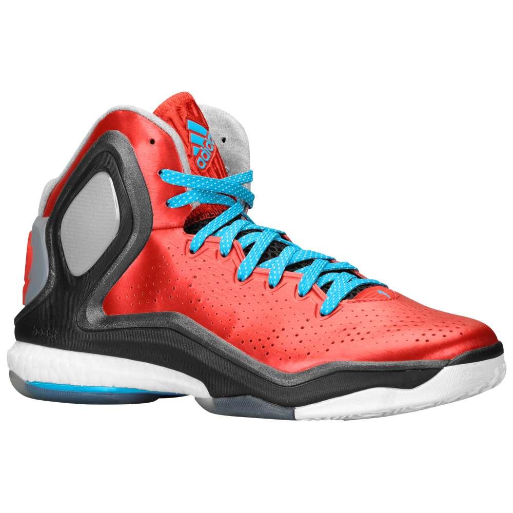 アディダス メンズ バスケットボール シューズ・靴【adidas D Rose 5 Boost】Light Scarlet/Solar Blue/Black