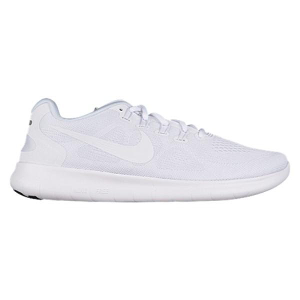 ナイキ メンズ ランニング・ウォーキング シューズ・靴【Nike Free RN 2017】White/White/Black/Pure Platinum