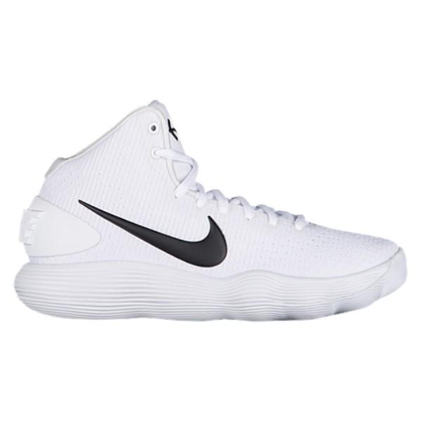 ナイキ メンズ バスケットボール シューズ・靴【Nike React Hyperdunk 2017 Mid】White/Black