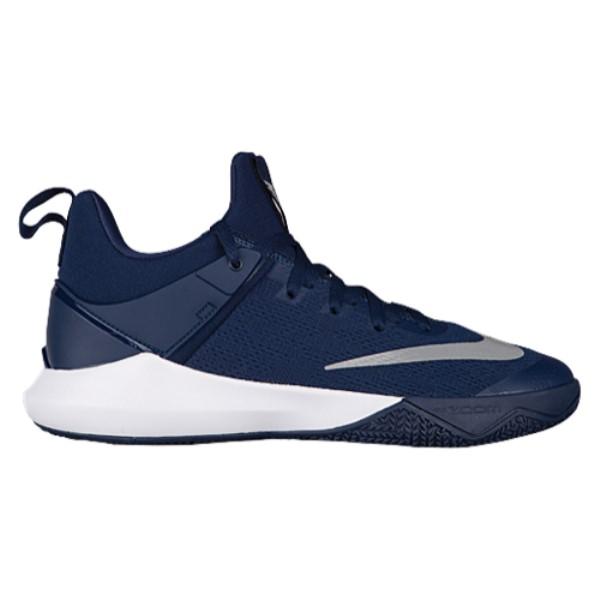 ナイキ メンズ バスケットボール シューズ・靴【Nike Zoom Shift】Midnight Navy/White