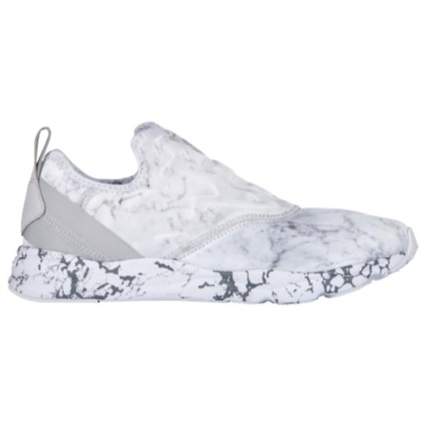 リーボック レディース シューズ・靴 スニーカー【Reebok Furylite Slip On】White/Snowy Grey