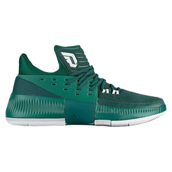 アディダス メンズ バスケットボール シューズ・靴【adidas Dame 3】Dark Green