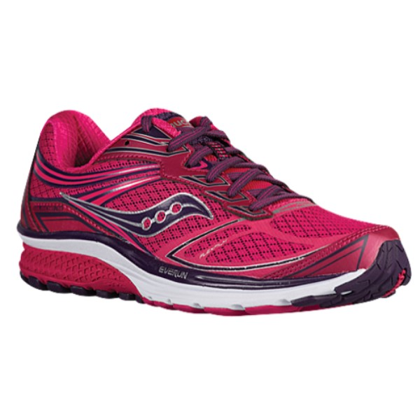 サッカニー レディース ランニング・ウォーキング シューズ・靴【Saucony Guide 9】Pink