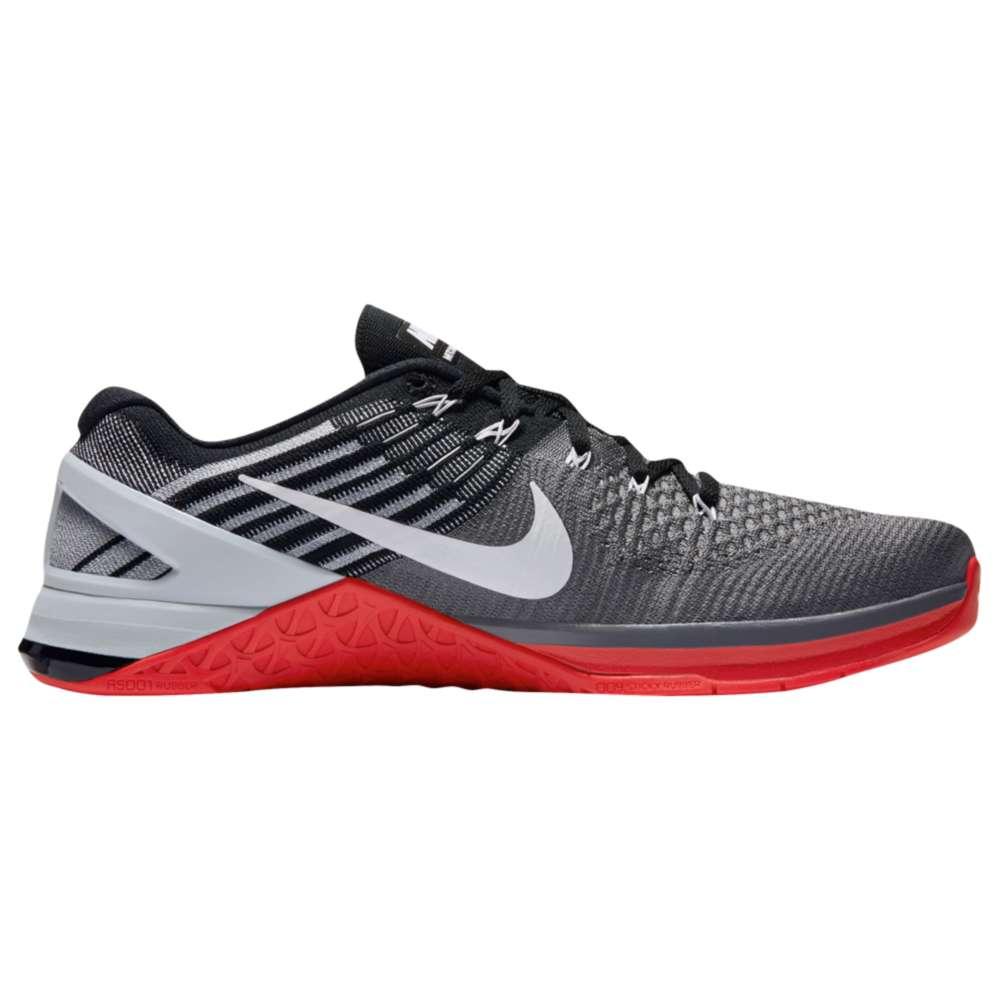 ナイキ メンズ フィットネス・トレーニング シューズ・靴【Nike Metcon DSX Flyknit】Dark Grey/White/University Red/Black