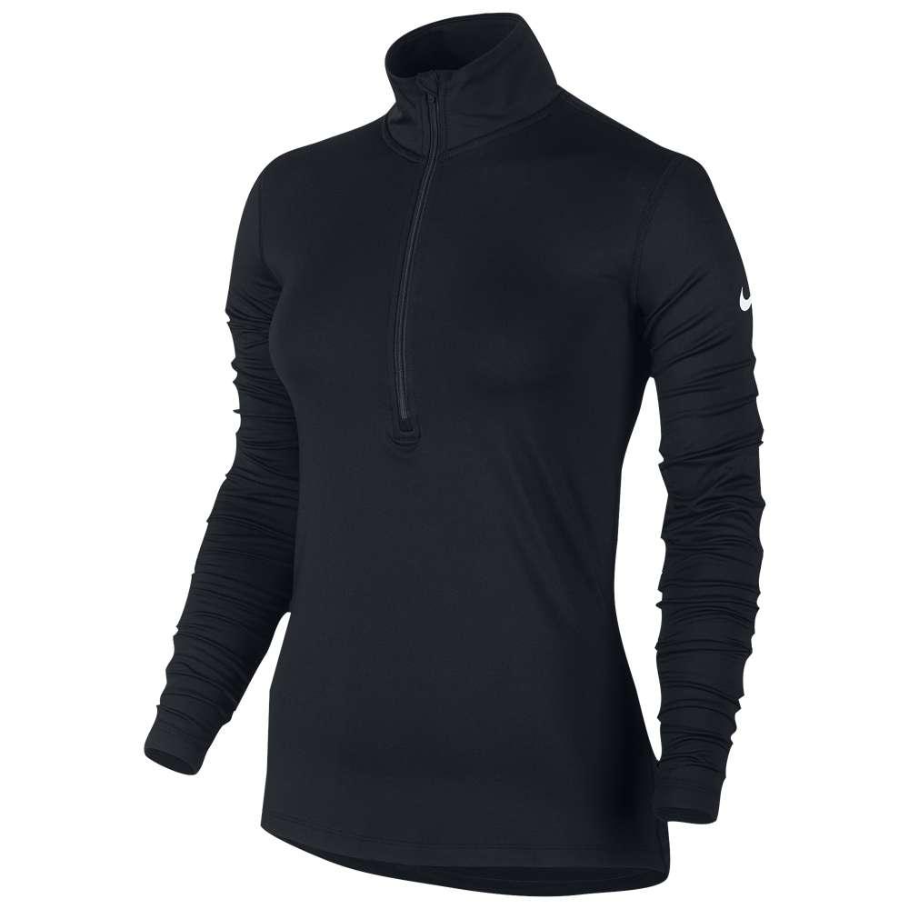 当社の ナイキ Zip】Black レディース Long フィットネス・トレーニング トップス【Nike Pro Warm ナイキ Long Sleeve 1/2 Zip】Black, ナカノク:9018cfb0 --- themarqueeindrumlish.ie