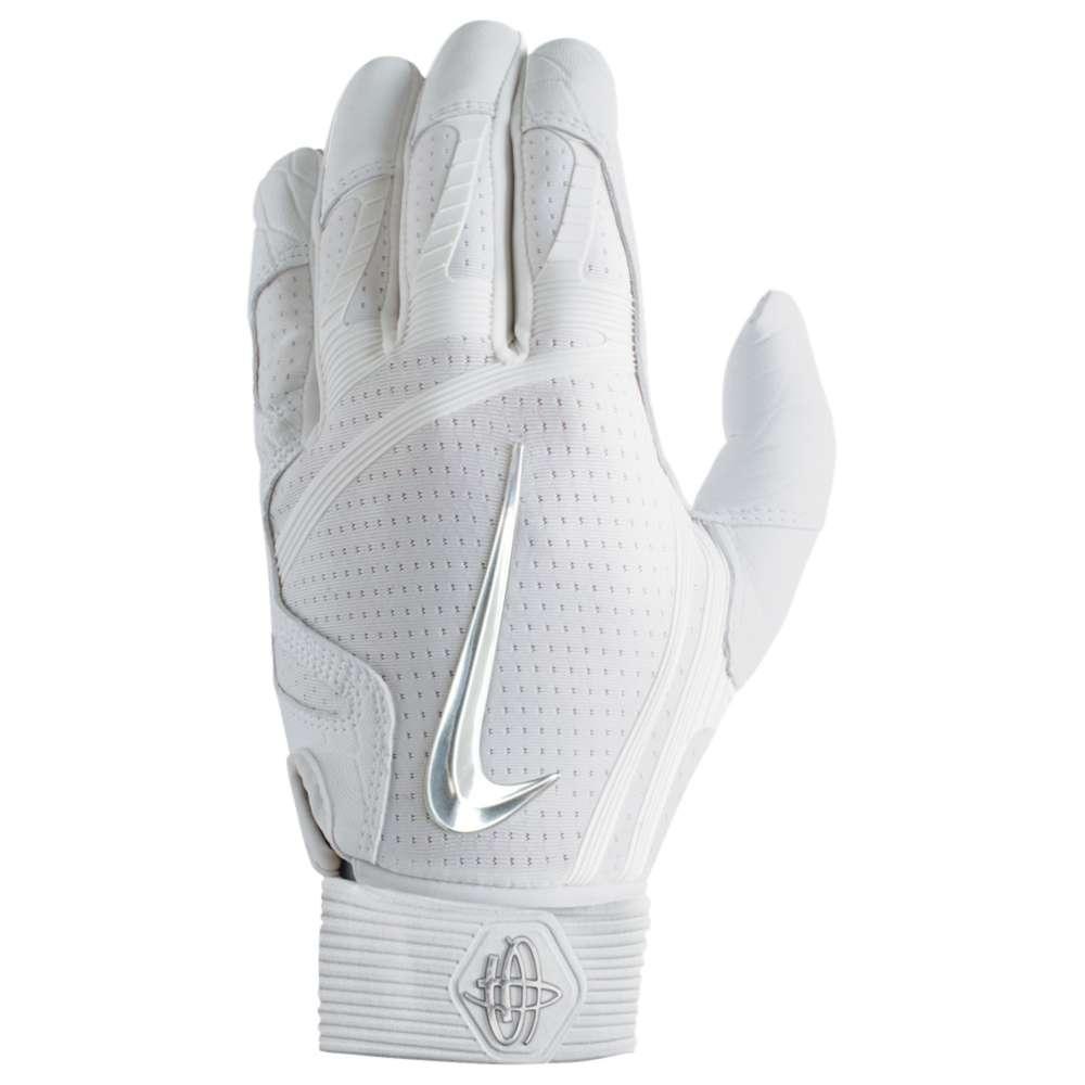 輝い ナイキ メンズ 野球 グローブ【Nike メンズ 野球 Huarache Elite Batting Gloves グローブ【Nike】White/Chrome, 皆瀬村:360f5ccb --- wedding-soramame.yutaka-na-jinsei.com