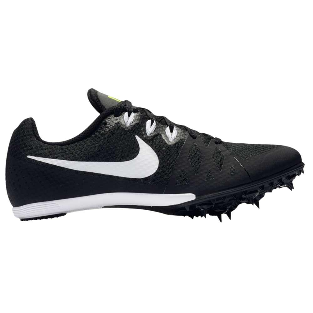 ナイキ メンズ 陸上 シューズ・靴【Nike Zoom Rival MD 8】Black/White/Volt