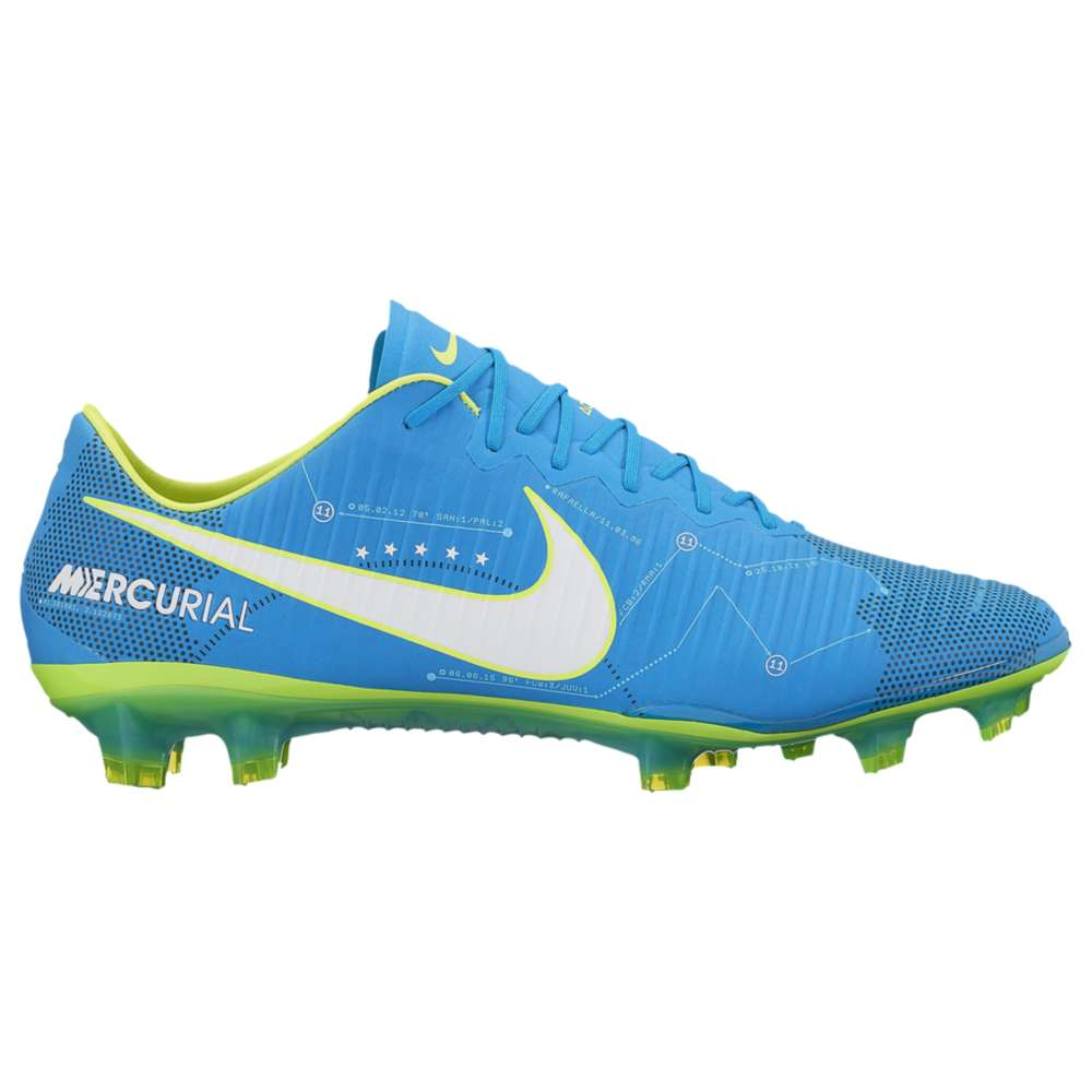 ナイキ メンズ サッカー シューズ・靴【Nike Mercurial Vapor XI FG】Blue Orbit/White/Navy