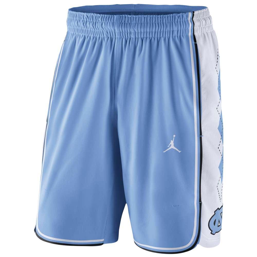 ナイキ ジョーダン メンズ バスケットボール ボトムス・パンツ【Jordan College Authentic On Court Shorts】Light Blue