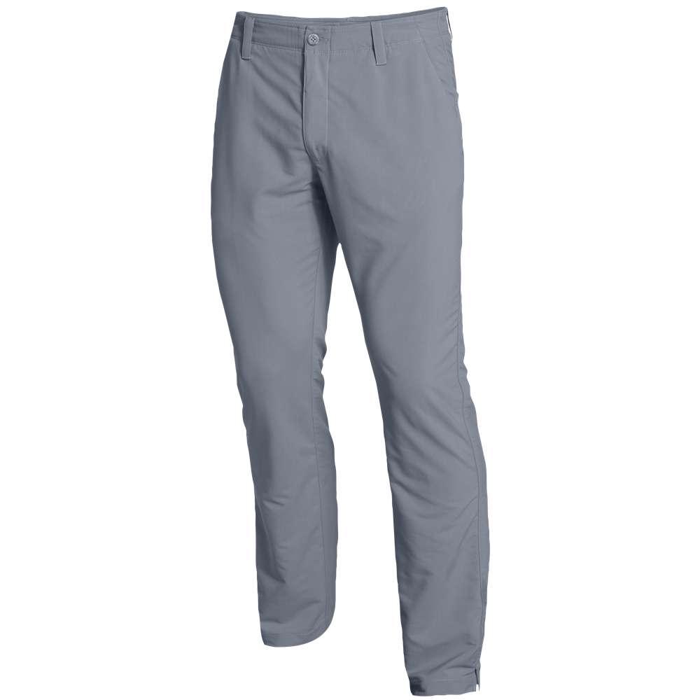 アンダーアーマー メンズ ゴルフ ボトムス・パンツ【Under Armour Match Play Golf Pants】Steel/True Grey Heather/Steel