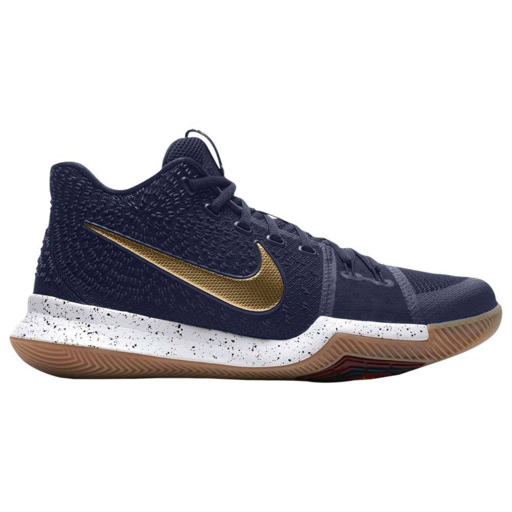ナイキ メンズ バスケットボール シューズ・靴【Nike Kyrie 3】Dark Obsidian/Metallic Gold/Summit White