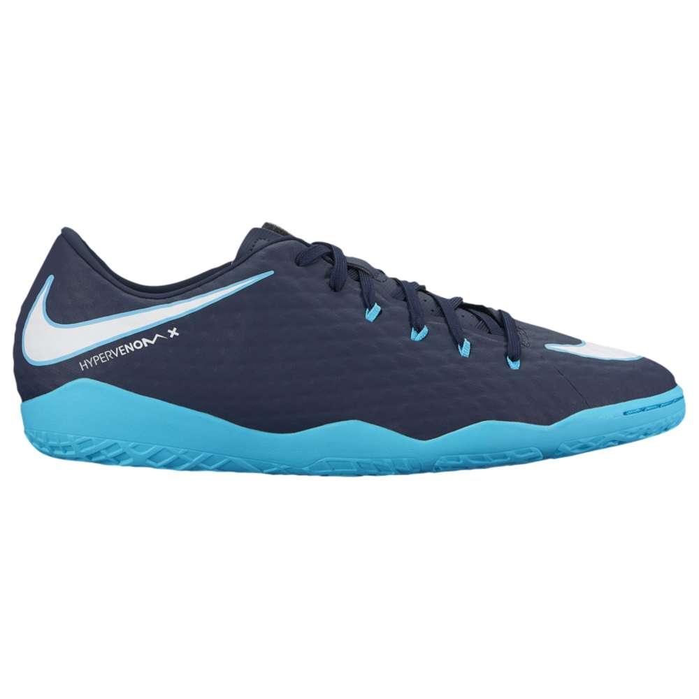 ナイキ メンズ サッカー シューズ・靴【Nike HypervenomX Phelon III IC】Obsidian/White/Gamma Blue