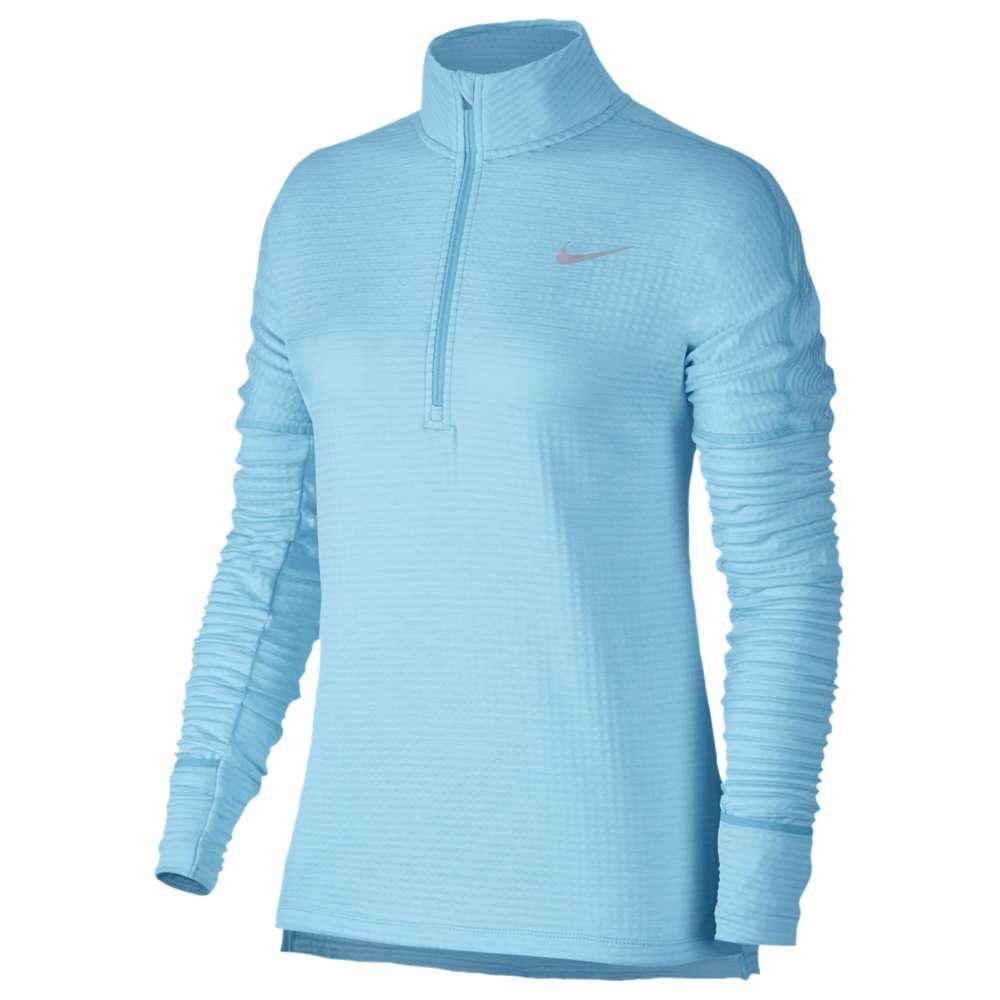 ナイキ レディース ランニング・ウォーキング トップス【Nike Dri-FIT Element Therma Sphere 1/2 Zip】Polarized Blue/Heather/Polarized Blue